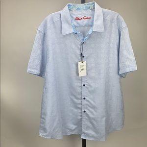 Robert Graham Casual Button Up Shirt Size 4XL